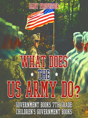 cover image of What Does the US Army Do?