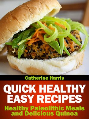 cover image of Quick Healthy Easy Recipes