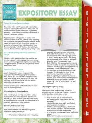 cover image of Expository Essay