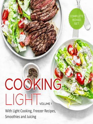 cover image of Cooking Light, Volume 1