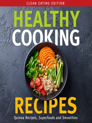 cover image of Healthy Cooking Recipes, Volume 1