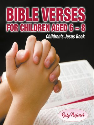 cover image of 365 Days of Bible Verses for Children Aged 6--8--Children's Jesus Book