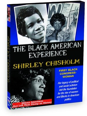 cover image of Shirley Chisholm: First African American Congresswoman