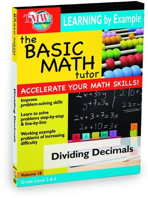 cover image of Basic Math Tutor: Dividing Decimals
