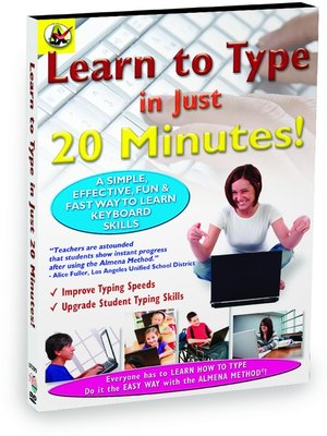 cover image of Learn How to Type in Just 20 Minutes
