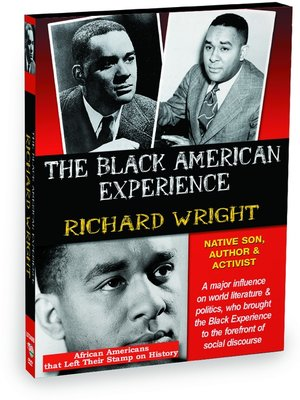 cover image of Richard Wright: Native Son, Author and Activist