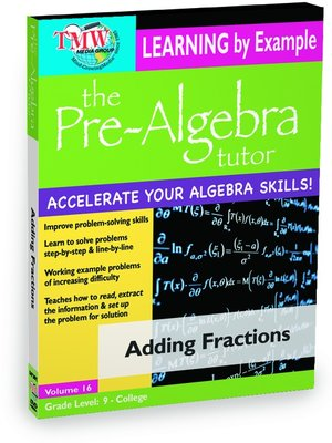 cover image of Adding Fractions
