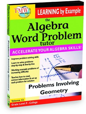 solve word problems algebra