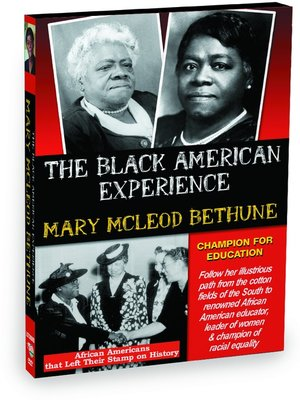 cover image of Mary McLeod Bethune: Champion for Education