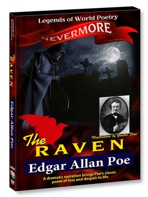 cover image of The Raven - Edgar Allan Poe