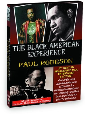 cover image of Paul Robeson: 20th Century Renaissance Man, Entertainer & Activist
