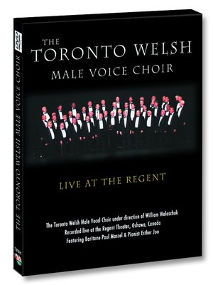 cover image of The Toronto Welsh Choir - Live at the Regent Theater