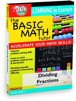 cover image of Basic Math Tutor: Dividing Fractions