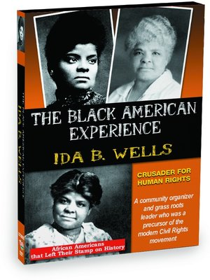 cover image of Ida B. Wells: Crusader for Human Rights