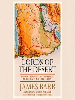 cover image of Lords of the Desert