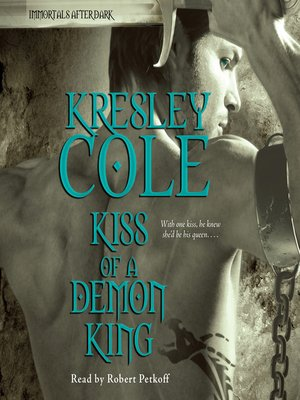 cover image of Kiss of a Demon King