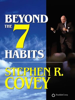 cover image of Beyond the 7 Habits