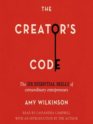 cover image of The Creator's Code