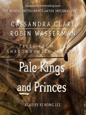 cover image of Pale Kings and Princes