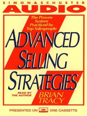 cover image of Advanced Selling Strategies