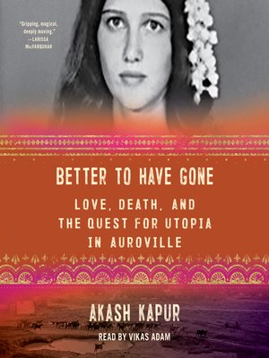 cover image of Better to Have Gone