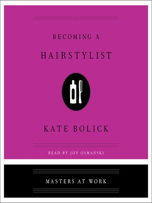 cover image of Becoming a Hairstylist