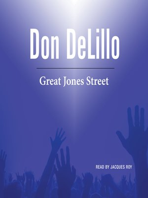 cover image of Great Jones Street