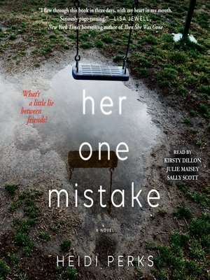 cover image of Her One Mistake
