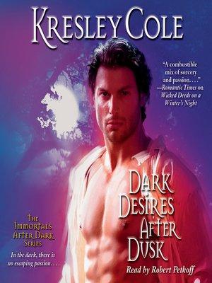 cover image of Dark Desires After Dusk