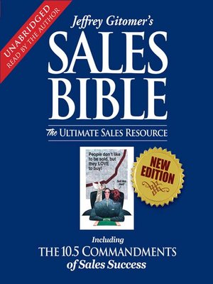 cover image of The Sales Bible