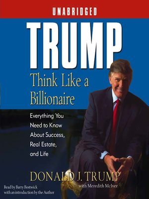 cover image of Trump: Think Like a Billionaire
