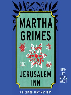 cover image of Jerusalem Inn