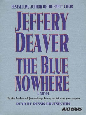 cover image of The Blue Nowhere