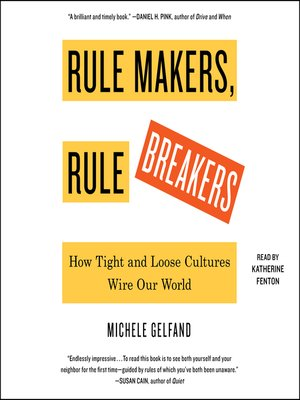 cover image of Rule Makers, Rule Breakers