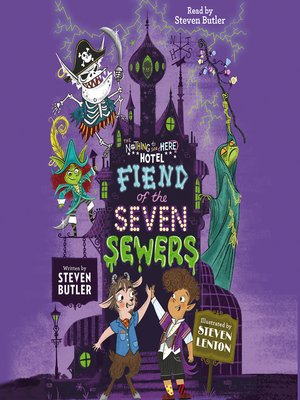 cover image of Fiend of the Seven Sewers