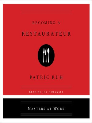 cover image of Becoming a Restaurateur