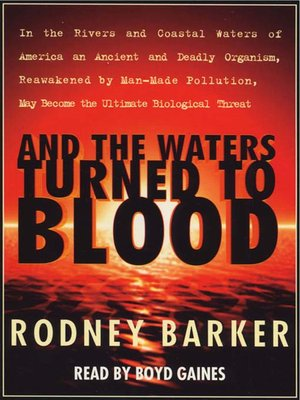 cover image of And the Waters Turned to Blood