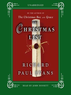 cover image of The Christmas List