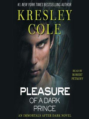cover image of Pleasure of a Dark Prince