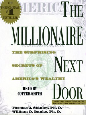 cover image of The Millionaire Next Door