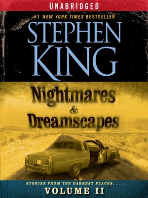 cover image of Nightmares & Dreamscapes, Volume II