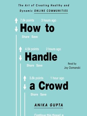 cover image of How to Handle a Crowd