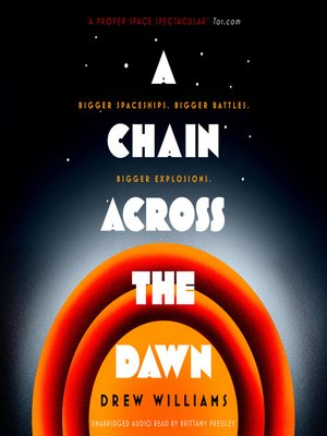 cover image of A Chain Across the Dawn