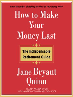 cover image of How to Make Your Money Last