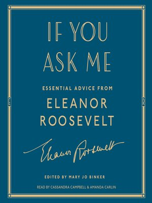 cover image of If You Ask Me