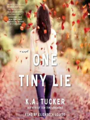 cover image of One Tiny Lie