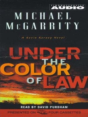 Under The Color Of Law By Michael Mcgarrity Overdrive Rakuten