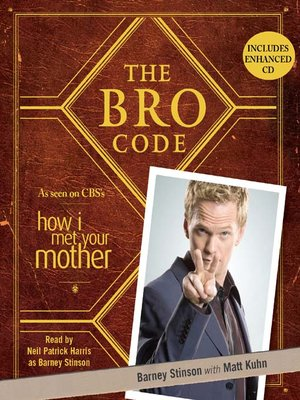 cover image of The Bro Code
