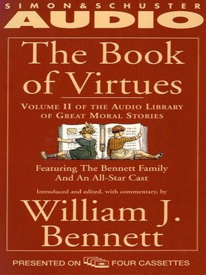 cover image of The Book of Virtues Volume II