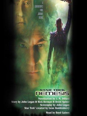 cover image of Nemesis Movie-tie In